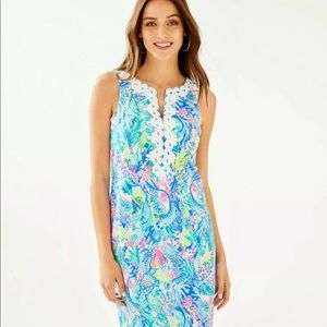 New Lilly Pulitzer Gabby stretchy Shift Dress